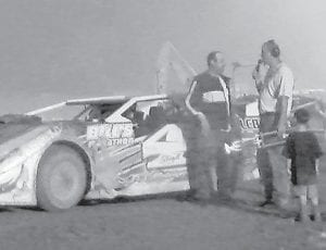 LUCKY 7 SPEEDWAY late model division winner was Mark Sturgill.