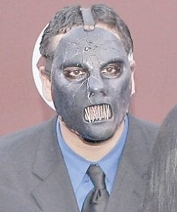 Paul Gray at 2005 Grammy Awards ceremony in L.A. (AP photo)