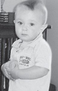 FIRST BIRTHDAY — Collin Cruz Eversole turned one year old June 16. He is the son of Fredrick III and Tiffany Eversole of Pikeville. His grandparents are Fredrick Eversole Jr. of Whitesburg, and Doris Ison Day of Little Cowan. He is the great-grandson of Fredrick Sr. and Joanne Eversole of Whitesburg, and the late Irvin Ison and Carolyn Isom Gilliam of Whitesburg. EYE Care