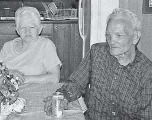 CAROL AND CURT JR. CAUDILL are pictured at their home at Redfox.