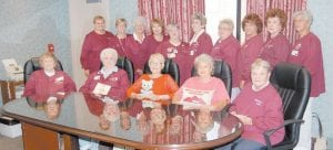 The Whitesburg ARH Auxiliary adds a personal touch to the hospital. Pictured front row, left to right are Nova Poloskey, Patsy Bowen, Neucedia Miller, Dorothy Miles, Geri Haynes, (back row) Sandy Banks, Cheryl Hall, Janie Smith, Reva Sergent, Pat Yinger, Shirley Breeding, Diane Lewis, Rita Collins, Irene Smith and Martha Sue Blair.