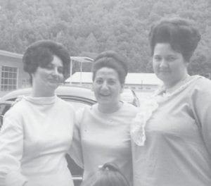 GOOD FRIENDS — Pictured are Kathleen (Howard) Brock, Shirley (Absher) Niece and Maxine Laney.