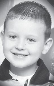 James Calvin Jones II turned four years old May 30. His parents are Tabatha Jones of Millstone and the late James Jones. He is the grandson of Gary and Vivian Hall of Millstone, and Martha Jones of Harlan and the late Hiram Jones.