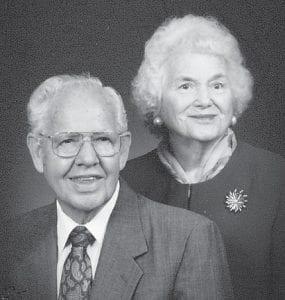 ANNIVERSARY — Irene and Abb Humphrey recently celebrated their 70th wedding anniversary.