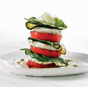 Roasted Tomato & Zucchini Salad