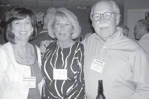 Carol Ann Nease (1966), Brenda Ison ('65), Ed Maggard ('62).