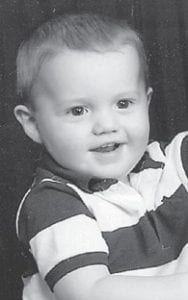 TURNING TWO — Sebastian Jay Caudill will turn two years old on July 30. He is the son of Georgia Wells and Neil Caudill of Cowan. His grandparents are Johnny Wells of Campbranch, Mary Hamilton of Mayking, and Brenda and Don Caudill of Cowan.
