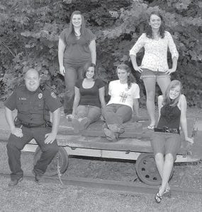 MOUNTAIN IDOL — Finalists in the Mountain Outreach Idol are (left to right) Paul Brandon Fields, Caitlin Collier, Kristy Thomas, Samantha Jo Fulton, Storm Cox, and Ashley Fleming. The vote for the winner will be held during Riverside Days, August 19, 20 and 21. For more information, call 832-0090.