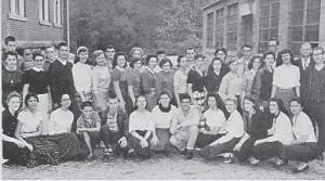 Whitesburg High School Science Club – 1958