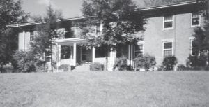 THE GIRLS' DORMITORY at Stuart Robinson School is pictured in1953.