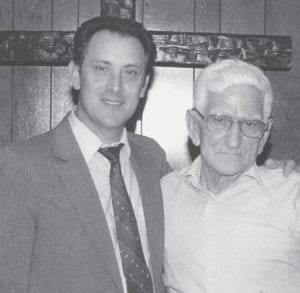 """FRIENDS — Whitesburg correspondent Oma Hatton says of these two, Bro. Conard Profitt and the late Bill Howard, """"Two good friends and good preachers."""""""