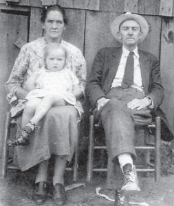 Pictured are Robert and Thula Halcomb and Ailene Robinson.