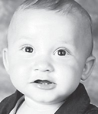 ONE YEAR OLD — Mason Cole Boggs celebrated his first birthday August 13. He is the son of Eric and Jamie Boggs of Kingscreek, and has an older brother, Brady Boggs. His grandparents are Harrison and Vickie Boggs of Kingscreek, and Clell and Vonda Combs of Linefork. He is the great-grandson of Mae Boggs of Kingscreek, Mitchell Wright of Isom, Jean Fields of Whitesburg, and Ruth Combs of Linefork.