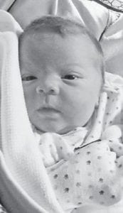 AUGUST BABY — Weston Hunter Amburgey was born August 24 to Jennifer and Matthew Amburgey of Dry Fork. His grandparents are Leslie and Wiley Amburgey of Dry Fork, and Patsy Collier of McRoberts and the late Tim Collier. He is the great-grandson of Barbara Fletcher of Isom.