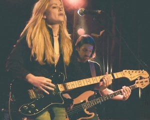 Anne McCue will perform in Whitesburg on Thursday night. The guitarist and singer and songwriter began her successful career in Australia. (Photo by Melissa Donovan)