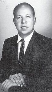 RALPH BROWN, son of the late Martha and Dewey Brown, formerly of Marlowe, is pictured in 1970.
