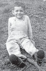 """BIRTHDAY — Larry Hatton will celebrate his birthday Oct. 10. He is pictured at six years old. His mother, Whitesburg correspondent Oma Hatton, says, """"He's changed a little."""""""