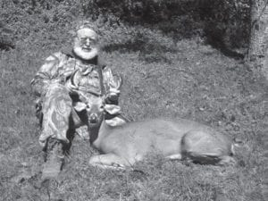 Steve Brewer's hunting trip ended in success, as this buck shows.