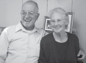 GOLDEN ANNIVERSARY — Allen and Sylvania Whitaker of Jeremiah, will celebrate their 50th wedding anniversary on Oct. 8.