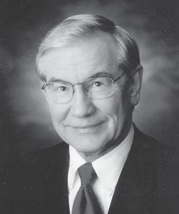 Rev. Mackey was pastor at First Baptist Church from 1969 until 1979.