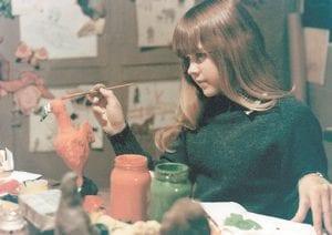 Linda Blair in 'The Exorcist.' (AP)