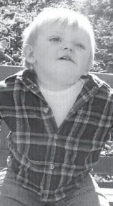 ONE YEAR OLD — Gavin Kendrick Lee Eldridge will celebrate his first birthday on Oct. 22. He is the son of Ashley and Justin Eldridge of Whitesburg.