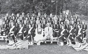 1986 WHITESBURG HIGH SCHOOL BAND