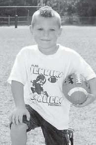 TURNING SIX — Kaiden Milam will celebrate his sixth birthday on Oct. 30. He is a son of Tiny and Terah Taylor of Jenkins, and a grandson of Doris and Bobby Estep of Lexington, Jimmy and Mary Milam of Dorton, and Liz and Steve Sexton of Payne Gap. He has an older brother, Justin, 8.