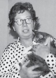 MARLOWE GIRL — Ruth Brown, daughter of the late Martha and Dewey Brown, grew up in Marlowe. Her sister is Roberta Willie of Roanoke, Va.
