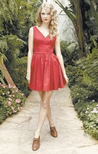 """Musician Taylor Swift posed for a portrait in West Hollywood, Calif. Swift's new album """"Speak Now"""" was released on Oct. 25. (AP Photo)"""
