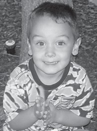 FOUR YEARS OLD — Robert Caden Slone celebrated his fourth birthday on Sept. 25 at his favorite place, Chuck E. Cheese's. He is the son of Casey and Robby Slone of Pippa Passes. His grandparents are Joe and Tammy Fields of Smoot Creek, Tammy Adams of Isom, and Laurita and Leo Slone of Pippa Passes.