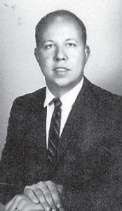 RALPH BROWN is pictured in 1970. He is the son of the late Martha and Dewey Brown, residents of Marlowe.