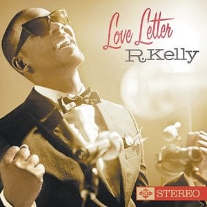 """In this CD cover image released by Jive Records, the latest by R. Kelly, """"Love Letter,"""" is shown. (AP Photo)"""