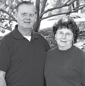 """GOLDEN ANNIVERSARY — Mr. and Mrs. Frank Perry of Whitesburg will celebrate their 50th wedding anniversary on Thursday, December 23. The couple were married in Whitesburg on December 23,1960. He retired after working many years at the old A&P store and the Bank of Whitesburg. She retired after 32 years with Kentucky Power Company. They are the parents of two children, Lynn Perry Cutright of Mt. Juliet, Tenn., and Chris Perry of Dandridge, Tenn., and also have four grandchildren, Paige and Ragan Cutright and Dylan and Cole Perry. Their family members expressed thanks to the couple for their love, support and encouragement, and said they are """"the best parents and grandparents ever."""""""