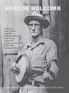 """In this DVD cover image released by Shanachie, """"The Legacy of Roscoe Holcomb,"""" is shown. (AP Photo/Shanachie)"""