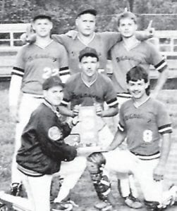 1993 All District Team — Charles Hicks, Jamie Collins, Bobby Maggard, Benji Meade, Shane Campbell and Phillip Little.