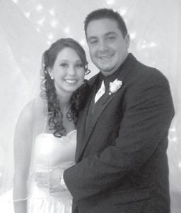 — Albany Beth Caudill and Jonathan Trevor Buttrey were married Dec. 31 at Premium Baptist Church. She is the daughter of Faye Boggs Stamper of Stanton and Robert Caudill of Premium, and the granddaughter of Betty Boggs Whitaker of Cram Creek and Elma Caudill of Kingdom Come Creek. She is in the Teacher Education Program at Alice Lloyd College. He is the son of Sharon Neice of Jenkins and James Buttrey of Little Colley, and the grandson of Mabel Jo Buttrey of Little Colley. He is a registered nurse at Whitesburg Appalachian Regional Hospital.