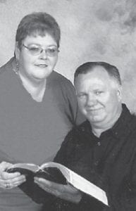 — Frank and Jeannie Adams of Premium celebrated their 34th wedding anniversary December 18. He is pastor of King's Chapel Church at Whitco, and is a coal miner. The couple have two children, Janie Rogers of Richmond and B.J. Adams of Premium, and four grandchildren, Callie Rogers, 10; Lawson Rogers, 7; Kane Wampler, 9; and Gage Adams, 2.