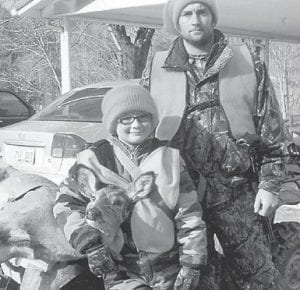 — Dylan Craft of Millstone killed his first deer on Linefork on Jan. 2 during the Youth Hunt. He was hunting with Neal Perkins.