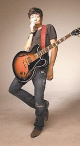"""Country rocker Chris Janson will return to Whitesburg on Saturday night for a concert at Summit City. After trying a more commercial sound for a single released last spring on Sony's BNA Records label ('Til a Woman Comes Around'), Janson, 23, is expected to make a welcome return to his unique style of """"pure country with rock themes, a driving guitar, and his signature harmonica."""" The show begins at 9 p.m."""