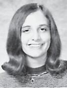 MELISSA ANN COMBS CLASS OF '71 SALUTATORIAN