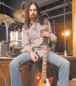 Damon Johnson, a guitarist and singer-songwriter best known for his work with Alice Cooper and Brother Cane, will perform in concert Saturday in Whitesburg. To hear Johnson's music, visit www.damonjohnson.com. (Photo by Stephen Jensen/www.F3Studios.com)