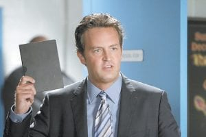 """Matthew Perry portrays Ben Donovan in a scene from """"Mr. Sunshine,"""" premiering Wednesday at 9:30 p.m. on ABC. (AP Photo/ABC)"""