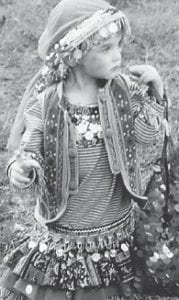 Macey Warf celebrated her third birthday with a Gypsy Prom party at the Harry M. Caudill Library in Whitesburg. The party included a gypsy village to play in, instruments to play, and games. She is the daughter of Brandon and Tracy Warf. Her grandparents are Fred and Sue Webb of Mayking, and Bobby and Terry Warf of Payne Gap. She has an older brother, Creed, 9.