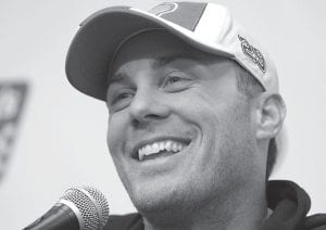 Driver Kevin Harvick hopes to dethrone five-time defending champ Jimmy Johnson. (AP photo)