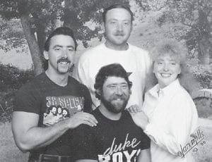 — Pictured are the children of Ada (Miller) King of Miamisburg, Ohio, and the late Arthur King, Anita, Art, Rick, and Jim.