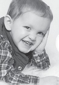 Landon Milam will celebrate his third birthday Feb. 19 with a Spongebob Squarepants party. He is the son of Jeremie and Heather Milam of Jenkins. His grandparents are Roy and Tammy Triplett of Jenkins, Jimmy and Mary Milam of Dorton, and Jacky and Doris Estep of Lexington.