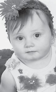Hali Nikole Bates Cornett celebrated her first birthday Feb. 8. She is the daughter of D.J. and Stephanie Cornett of Colson, and has four older brothers. Her grandparents are Kenny and Madonna Bates of Colson.