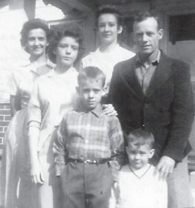 The late Juanita and Bill Hatton are pictured in 1962 with their children Sharon, Joyce, Billy Lee and Jimmy D.