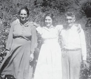 Pictured are the late Henry and Dora Pennington and their daughter Dorthy Tacket.